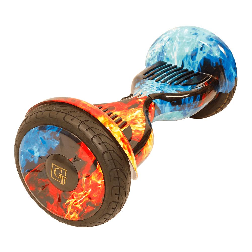 Гироскутер GT 10.5 с Аквазащитой - Огонь и лед